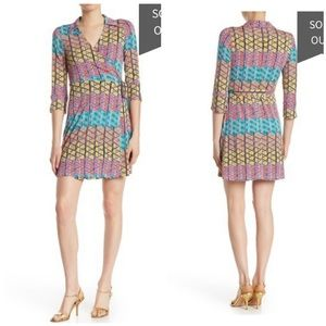 NWT Laundry by Shelli Segal Jersey Wrap Dress